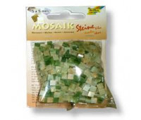 Мозаика, Folia мраморная Marbled assortments 45 гр, 5x5 мм (700 шт), №03 Green (Зеленый)
