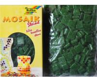 Мозаика, Folia Mosaic-glass tiles 200 гр, 10x10 мм (300 шт) №58 Fir green (Темно-Зеленый)