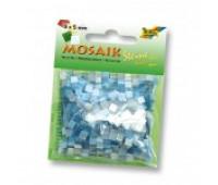 Мозаика, Folia глиттерная Glitter assortments 45 гр, 5x5 мм (700 шт), №02 Blue (Синий)
