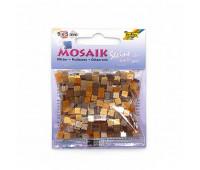 Мозаика, Folia глиттерная Glitter assortments 45 гр, 5x5 мм (700 шт), №04 Brown (Коричневый)