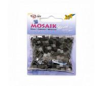 Мозаика, Folia глиттерная Glitter assortments 45 гр, 5x5 мм (700 шт), №05 Grey (Серый)