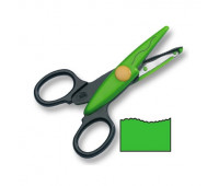 Фигурные ножницы Folia Contour Scissors, Corrugate cut арт 783-paper