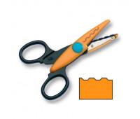 Фигурные ножницы Folia Contour Scissors, Cog wheel cut
