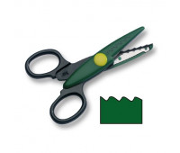 Фигурные ножницы Folia Contour Scissors, Saw-tooth cut