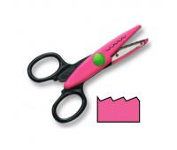 Фигурные ножницы Folia Contour Scissors, Jagged-cut, short