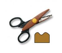 Фигурные ножницы Folia Contour Scissors, Flow-сut,large