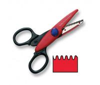Фигурные ножницы Folia Contour Scissors, Wave-cut (Хвилясті)
