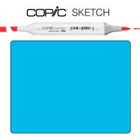Copic Sketch B-06 Peacock blue Насыщено-голубой